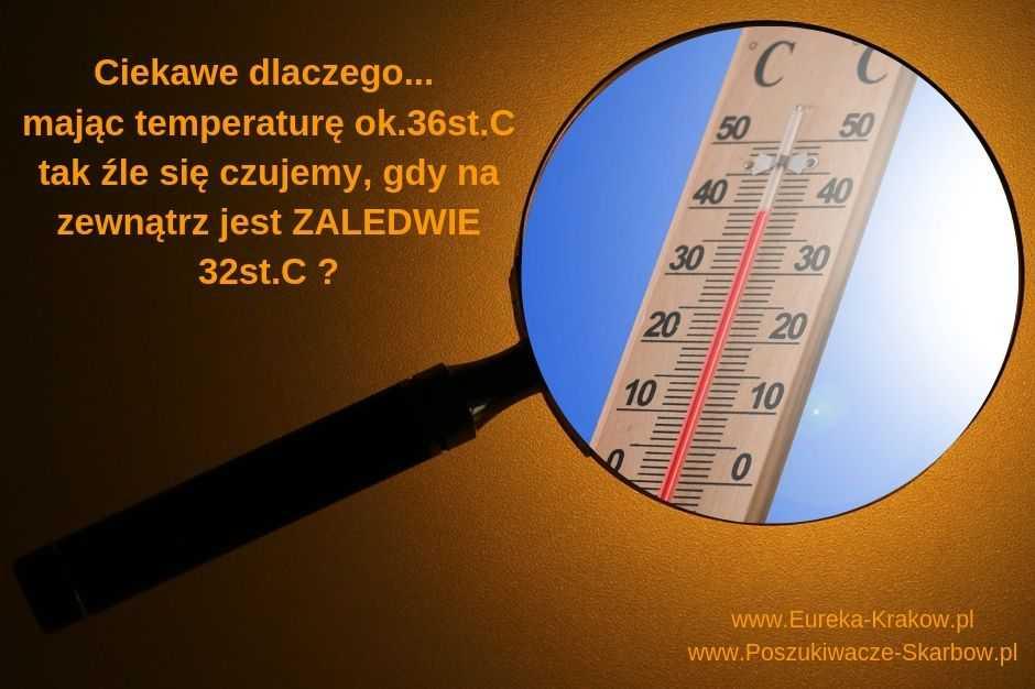 Kiedy człowiekowi jest łatwiej znosić wysokie temperatury powietrza?