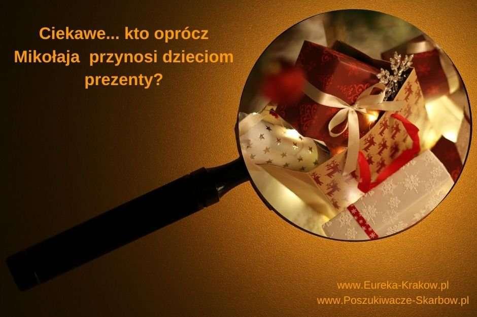Kto przynosi dzieciom prezenty pod choinkę?